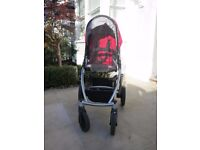 UPPAbaby Vista pushchair, carrycot and accessories. 2014 model. Very good condition