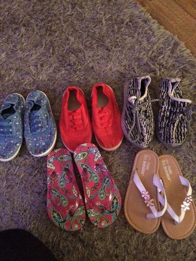 Girls shoe bundle 9