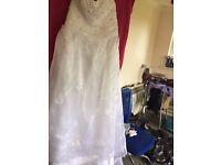 wedding dress size 18-20