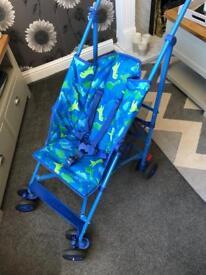 Mothercare dinosaur jive stroller