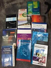 X12 Accounting & Finance University Books