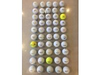 50 Golf Balls - mixed brands
