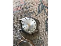 2 vintage watches