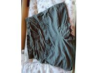 New look khaki shorts size 14
