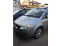 Ford C-Max 1.8 Petrol Ghia 05 spares or repairs light blue