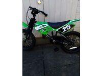 "Boys bike 16"" wheel motocross style"