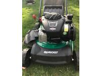 Briggs and Stratton by qualcast self propelled petrol Lawnmower 125cc