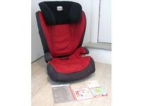 Red Britax Romer KidFix Car Seat