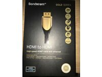 Sandstrom Gold Series 3M - HMDI to HDMI