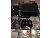 Xbox 360s 250GB and 22 games.