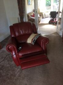Reclining chairs, one electric one manual buyer to collect.