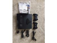 *** Sony Playstation 3 Slim Console PS3 250gb - NOT WORKING - 2 Controllers - Remote - Keypad ***