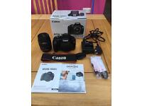 Canon eos 1100d dslr with Ed-s 18-55 mm lens
