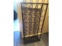 wine rack metal