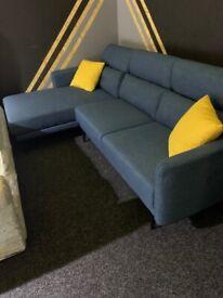 Brand new L shape sofa recliner headrest
