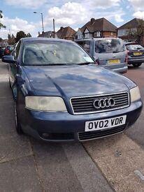 Audi a6 petrol good condition. Mot until August