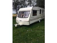 !!BARGAIN!! BAILEY PAGEANT CHAMPAGNE 1998 4 BERTH TOURING CARAVAN