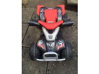 Red Kids Quad Bike 12V