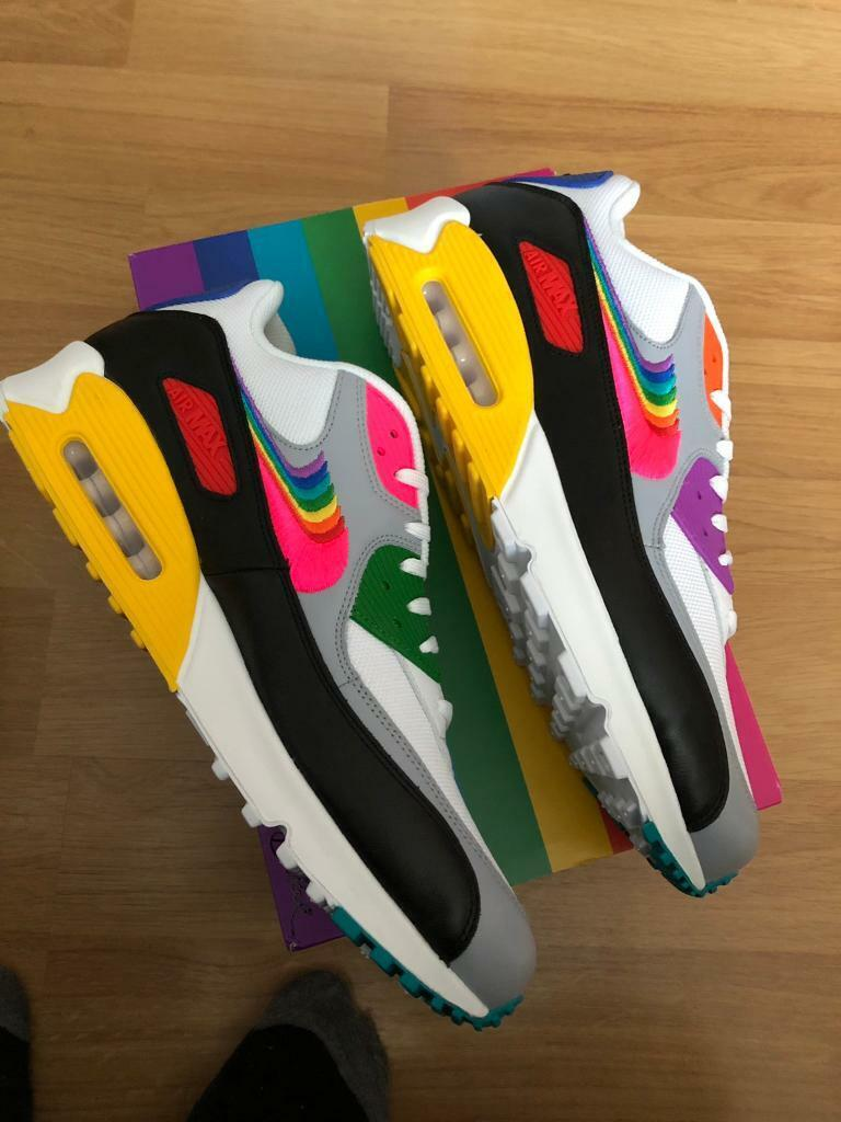 Nike Air Max 90 Be True designed for Pride brand new | in Slough, Berkshire | Gumtree