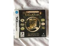 Ds game : Professor Layton and the curious village