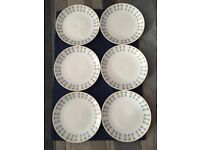 Snowdrop Johnson Bros 6 x Dinner - Salad plates
