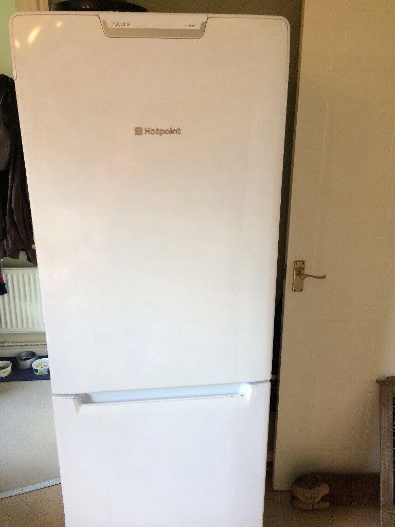 Good sized working hotpoint fridge freezer