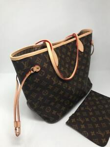 Louis Vuitton Neverfull MM Monogram Leather Bag ( More Sizes Styles Prints Available)