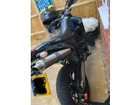 KTM duke 2 640 supermoto, low miles, 2 keys, mot, twin pipe