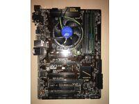 Motherboard bundle - Intel i5-6400 2.7GHz, Gigabyte B150-HD3P & 16GB Crucial Ram