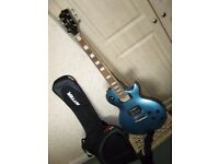 GOULD 6 STRING ELECTRIC GUITAR - LES PAUL STYLE BODY ,EXCELLENT CONDITION