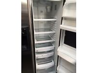 HOTPOINT full american style door fridge freezer with water dispenser perfect working order