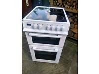 50cm Electra TC50W Freestanding electric cooker, white