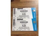 A-ha Concert Tickets Cambridge x2 10th June