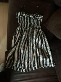 Print dress size 10 *new*