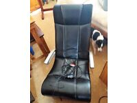 X-rocker gaming chair, mint condition
