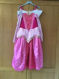 Disney Sleeping Beauty Dressing Up Outfit (age 7-8)