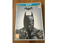 Batman Arkham Origins, Nintendo Wii U Game,