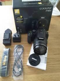 Nikon p900 Bridge camera