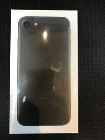 IPHONE 7 MATT BLACK 128GB UNLOCKED BRAND NEW IN BOX