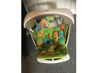 Fisher price swing with speed settings