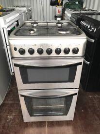 Indesit 50cm dual fuel cooker good condition