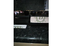 DITA MACH ONE DRX-2030B-59 DESIGNER SUNGLASSES STAMPED WITH BLACK LENS BRAND NEW AND BOXED,