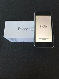 Iphone 5s 16GB Slate Grey Unlocked
