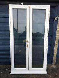 UPVC FRENCH DOORS GOOD CONDITION