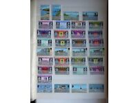 Stamp Collection of Guernsey and Jersey Pictorials