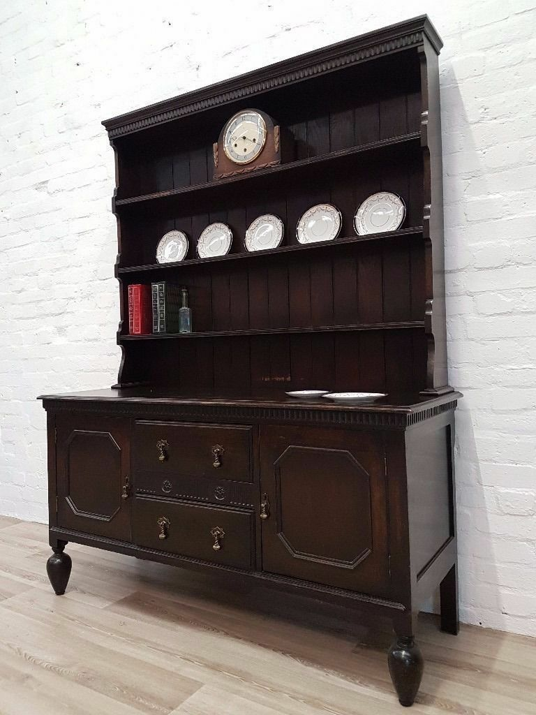 Edwardian Oak Dresser/Sideboard (DELIVERY AVAILABLE FOR THIS ITEM OF FURNITURE)