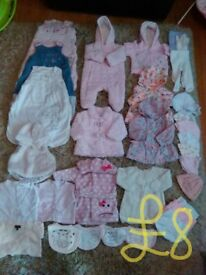 baby girl clothes bundle 0-3 months smoke free home