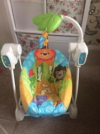 Fisher price swing and vibration seat