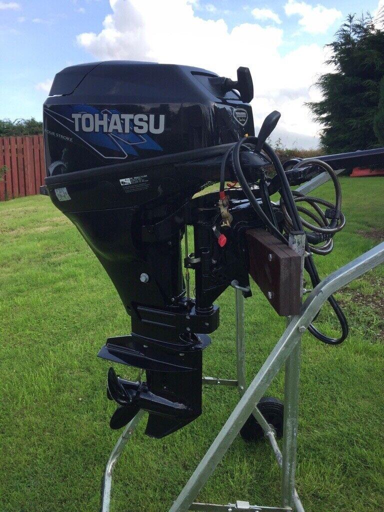 Tohatsu MFS20C Outboard Engine   in Inverurie, Aberdeenshire   Gumtree