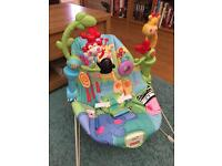 Fisher price bounce and vibrate seat